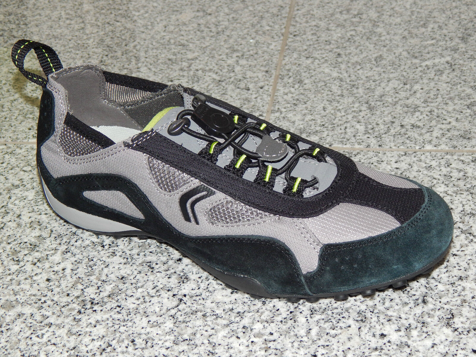 Geox Respira Snake Schuhe  Leder Herren Sneaker 41 42 43 44 45 46  47 Neu