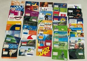 WORLD-SIMcards-50-Sim-Card-Cards-from-around-the-World