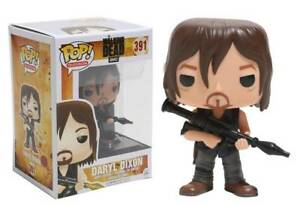 DARYL WITH ROCKET LAUNCHER FUNKO POP VINYL FIGURE #391 THE WALKING DEAD