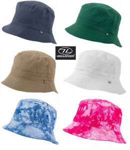 Mens-Sun-Hat-Cap-Bucket-Outdoor-Travel-Festival-Fishing-White-Blue-Green-S-XL