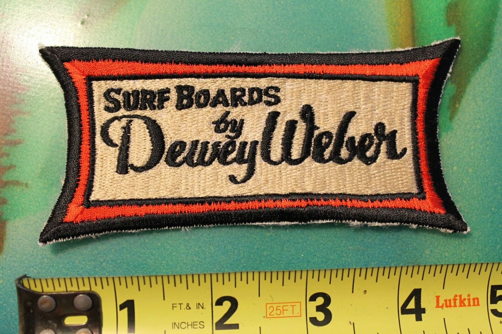 Dewey Weber Surfboards Surf Boards Classic Original Vintage 1960's Surfing PATCH