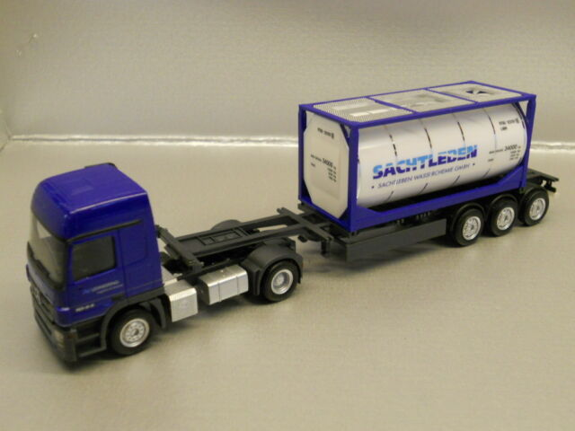 ** Herpa 902816 MB Actros L Tanque ovejas Lehnkering 1:87 HO Scale