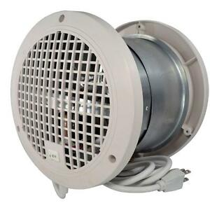 7-5-8-in-Through-Wall-Exhaust-Fan-Wood-Pellet-Stove-Room-Air-Vent-Heat-Transfer