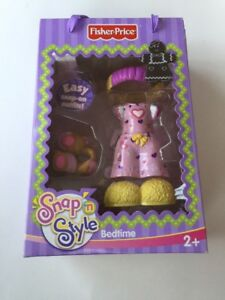 Snap-N-039-Style-Bedtime-Fashions-Fisher-Price-Brand-New