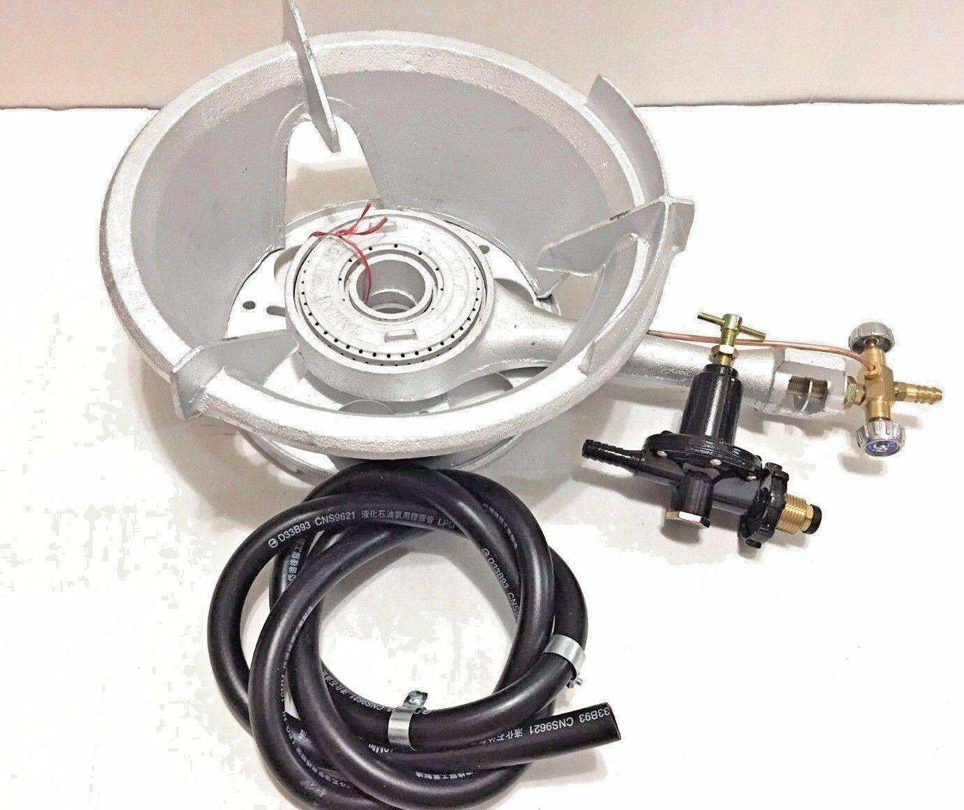 B-0006 High Pressure Burner Propane Gas Manual 12  Mouth Up to 119000 BTU HR