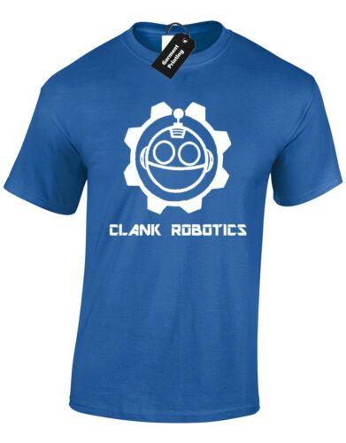 CLANK ROBOTICS MENS T SHIRT NEW GAMING GAMER TOP RETRO PS4 X BOX RATCHET