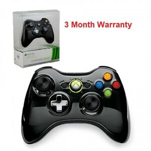 Microsoft-Xbox-360-Limited-Edition-Chrome-Series-Wireless-Controller