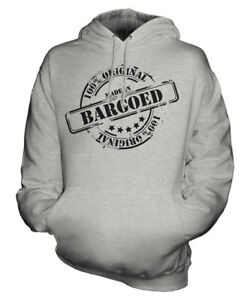Mens 50 Made ° compleanno Womens In Bargoed Hoodie Ladies Unisex Gift Natale di ppI6qS