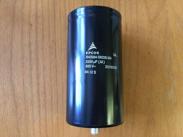 Condensador electrolítico THT SD1G228M1635MBB 5x 2200uF 40V Ø16x35mm SAMWHA