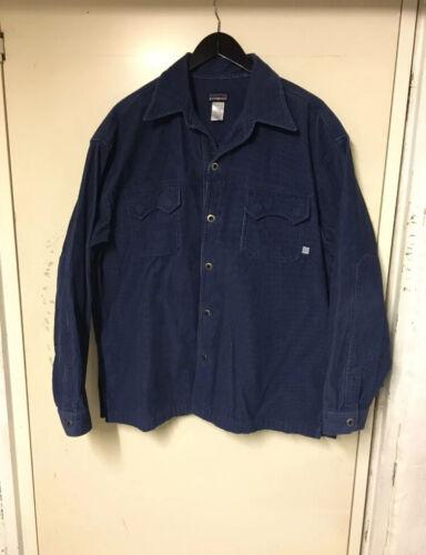 Patagonia Overshirt Vintage Blue XL