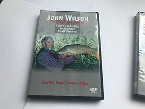Details about JOHN WILSON: GO FISHING SPECIAL- CENTRE-PIN FISHING DVD -  5055298021959