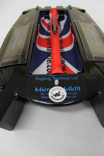 Angling Technics Microcat Baitboat Wright Tackle Union Jack Hopper Drapes