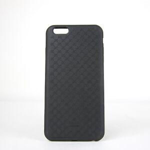 Gucci Unisex Black TPU Micro GG Guccissima Iphone 6 Plus Cover/case 399030 1000