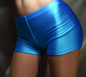 MADAME FANTASY SHORTS HOT PANTS SUSPENDERS SILVER WHITE XS S M L XL XXL XXXL