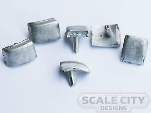 48-118 Roof Vent Budd Hooded Air Intake O scale FKA Keil Line Walthers