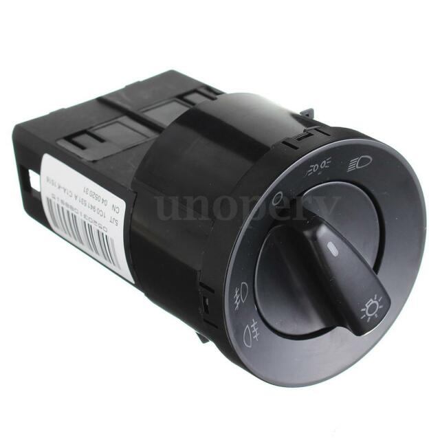 Headlight Fog Light Switch Control For VW GOLF JETTA MK4 PASSAT B5 CC B6 Touran