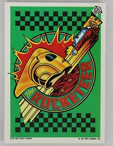 Topps-1991-The-Rocketeer-Movie-Complete-11-Card-Puzzle-Sticker-Set-1-11