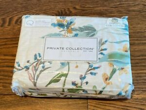 PRIVATE COLLECTION | QUEEN | SNOW GARDEN TEAL | NEW | RRP $229.95