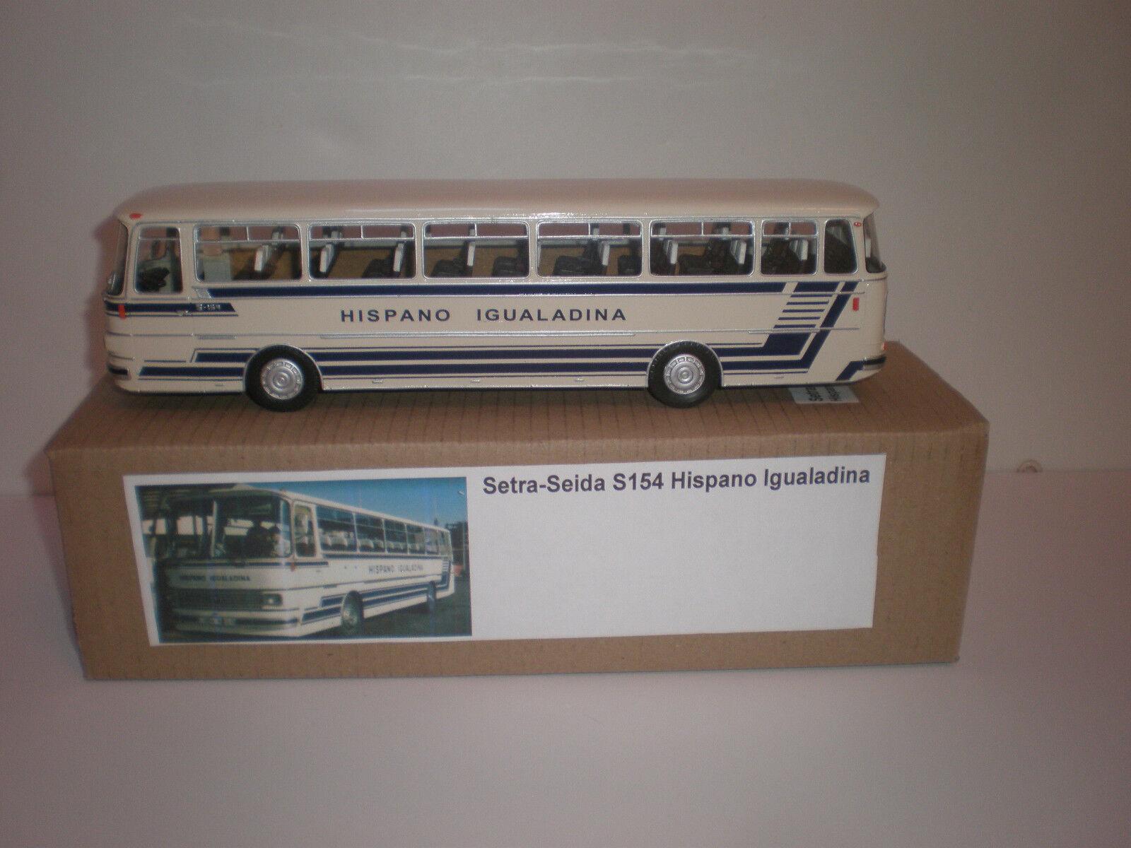 España Bus setra seida S 154 hispano igualadina 1972 hecho a mano