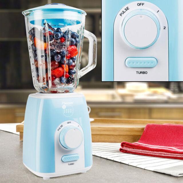 Stand Mixer 1000 W 1,5 L Glas Smoothie Ice Crusher Edelstahl Küchen Zerkleinerer