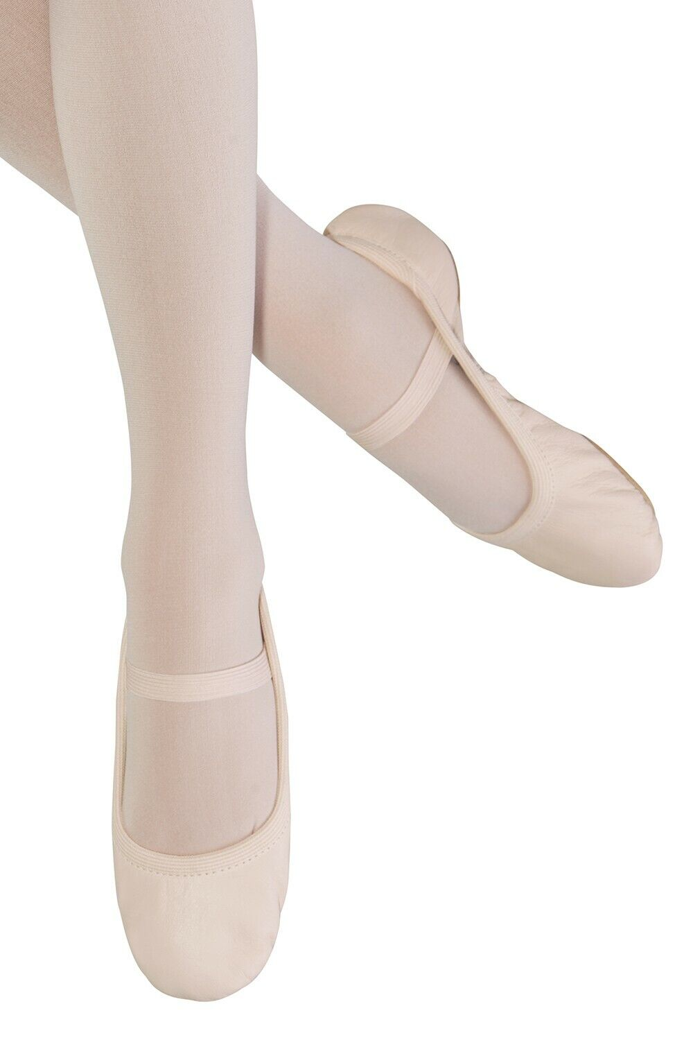 Bloch SO249G Giselle , no drawstring, full sole pink leather ballet shoes