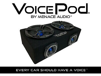 "BLUE MA-VP265NBL - 6.5/"" MIDRANGE BOX VOICEPOD® by MENACE AUDIO®"