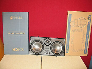 Niles-HD-LCR-150W-5-25-034-High-Definition-Flush-Speaker-NEW-INCLUDES-GRILL-MOUNT