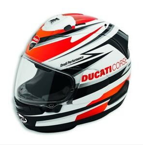 genuine arai ducati corse speed helmet rx 7v 98104051 new 2018 model ebay. Black Bedroom Furniture Sets. Home Design Ideas