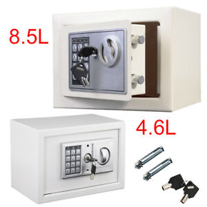 Mini Electronic Password Security Safe Money Cash Deposit Box Home Office Safety