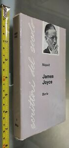 GG LIBRO:  SCRITTORI DEL SECOLO - JAMES JOYCE -  MAJAULT BORLA