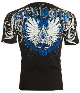 ARCHAIC-by-AFFLICTION-Men-T-Shirt-HEAVYWEIGHT-Wings-BLK-Motorcycle-Biker-40