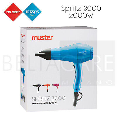 Muster Asciugacapelli Spritz 3000 Professionale Parrucchieri Capelli 2000W | eBay