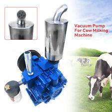 New Listingmilker Vacuum Pump Milking Machine For Cows Withbucket Milker 220lmin Protable Us