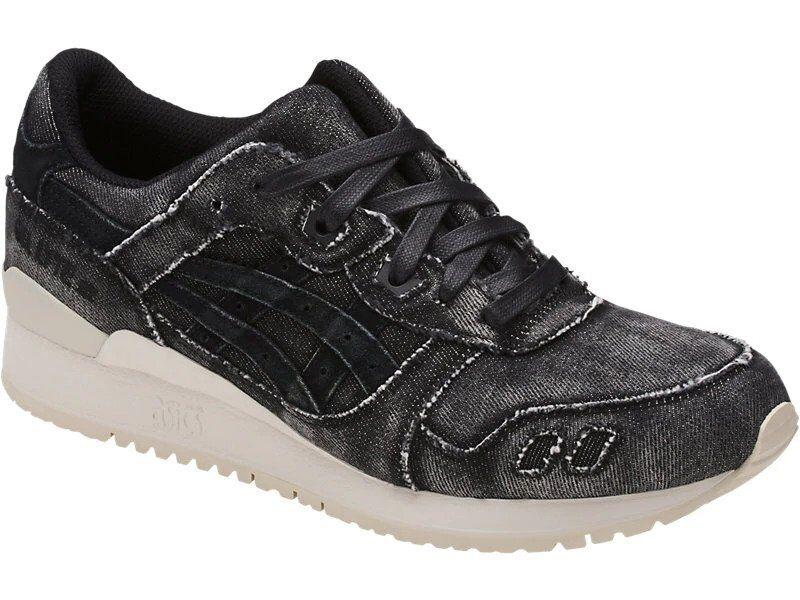 Nuevo En Caja-ASICS para hombre HN7L2 'GEL-LYTE JAPANESE Denim' Negro Atlético III Zapatos - 8
