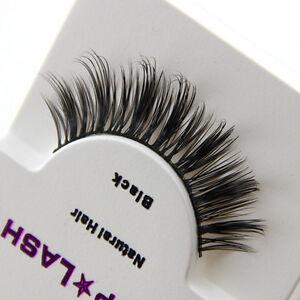 Black-Luxurious-100-Real-Mink-Natural-Thick-Eye-Lashes-False-Eyelashes-Hot