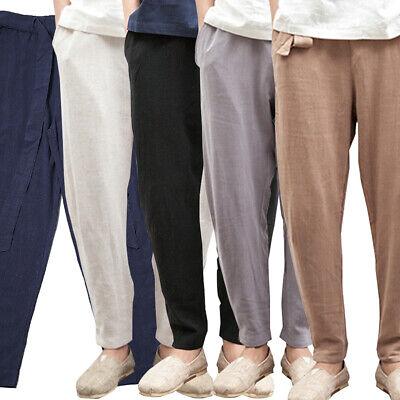pipigo Boy Thin Sweatpants Slim Fit Casual Elastic Waist Athletic Pant