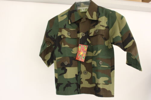 JR GI Children/'s Woodland Shirt//Jacket NEW 4 Size