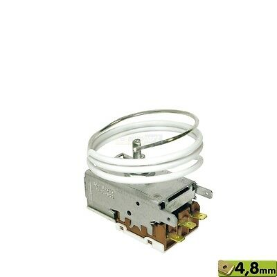 Autres Temperate Thermostat K59l2677/k59-l2677 Liebherr 6151186 Miele 5493640 Highly Polished