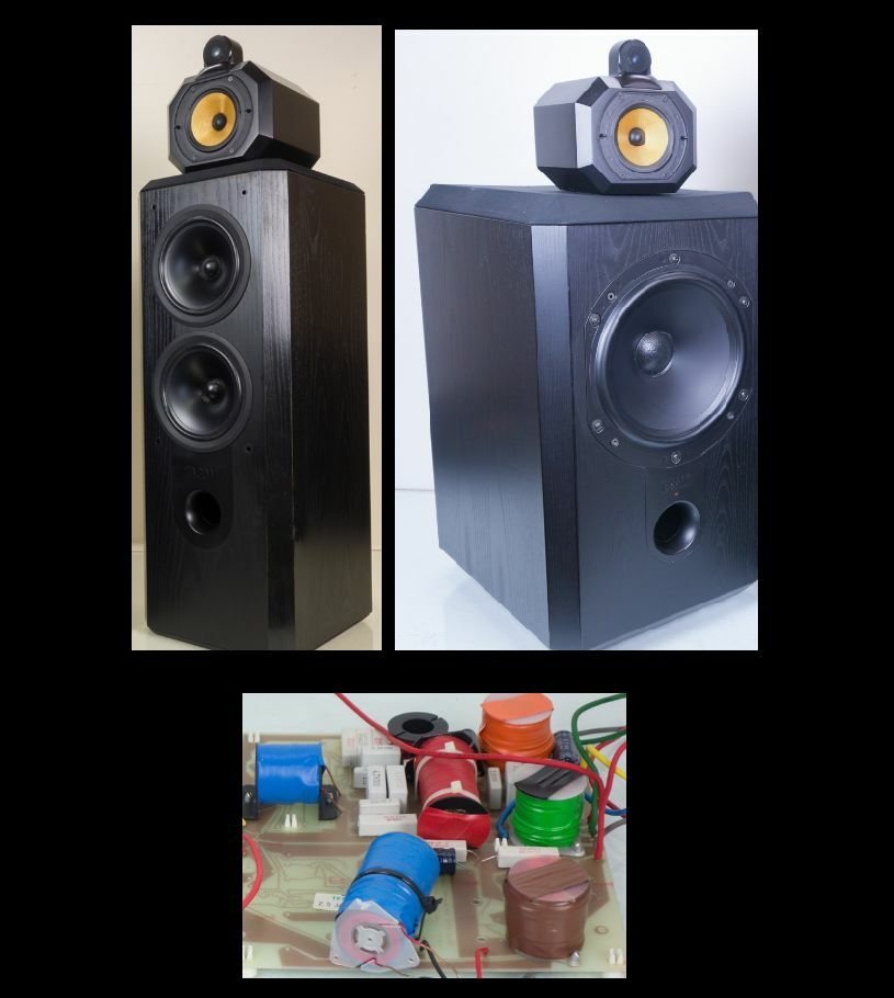 B&W 801-  S3 matrix Speakers - cross-over full upgrade service  PAIR