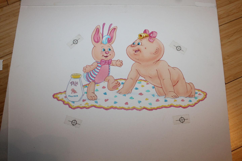 Originale Cabborsae Patch bambini Artistico Art By American Mobili