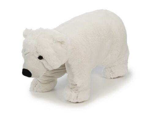Neuware Kuscheltier Kissen Eisbär zur Nackenrolle faltbar ca. 40x54cm