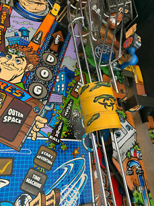 Junk Yard pinball barrel 3D mod painted