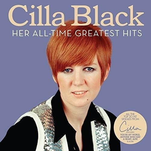 Cilla Black - Her All-Time Greatest Hits [New CD] UK - Import