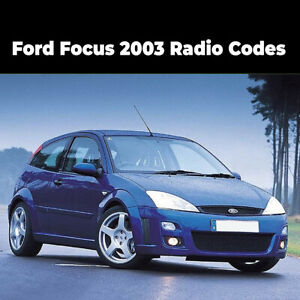 Ford-Focus-2003-Radio-Code-Stereo-Unlock-Reset-Codes-Pin-Car-Fast-Service