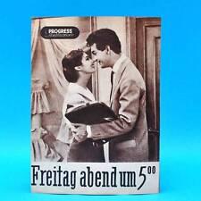 """630 Progress-Filmillustrierte 33/1957 """"Freitag abend um 5:00"""" DDR Darie Jurie"""