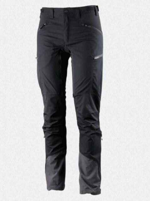 5fcd5d87 Lundhags Makke Pant Women's Black Elastic Womens Hiking Pants 46 ...