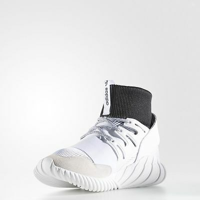 more photos 2f0c3 e0622 Adidas Tubular Doom White Black / BA7554 / Men's AD Yin Yang Knit Yarn Ftw  Core | eBay