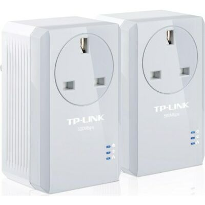 TP-LINK AV500 TL-PA4010P 500Mbps Powerline Adaptor with AC Pass Through Starter