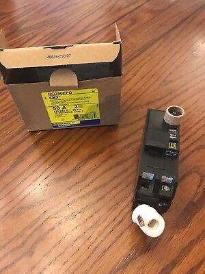 SQ-D QO250EPD Type QO  2Pole 50Amp 120//240Volt PLUG-IN w// Equipment Protection