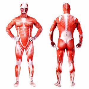 Attack On Titan Adult Zentai Jumpsuit Tights One Piece Bodysuit